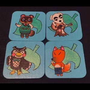 Animal Crossing Coaster Set
